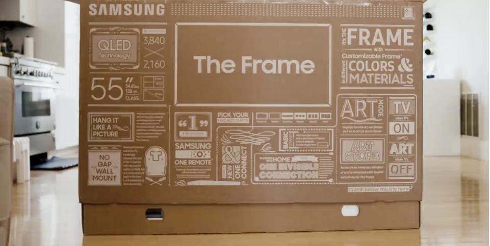 Samsung Frame TV Box